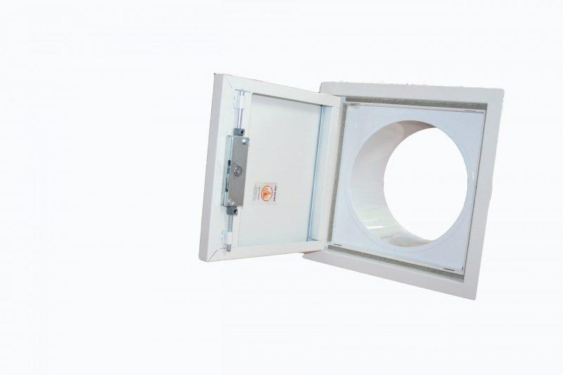 40602 white laundry chute door
